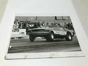 "VINTAGE ORIGINAL 1960'S TASCA FORD BLACK & WHITE PHOTO 8"" X 10"""