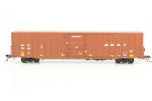 "HO Atlas Masterline BNSF ""Swoosh"" 60ft Plug Door Box Car New Xlnt Detail! #248"