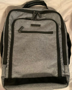 Kenneth Cole Reaction Backpack Charcoal Gray