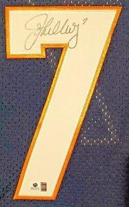 John Elway Auto Signed Mitchell & Ness Jersey GAI COA Broncos SB XXXII 32 Jersey