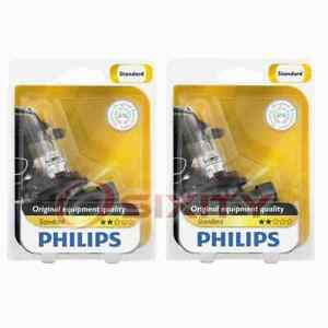 2 pc Philips Low Beam Headlight Bulbs for Volvo 850 960 S90 V90 1994-1998 hn