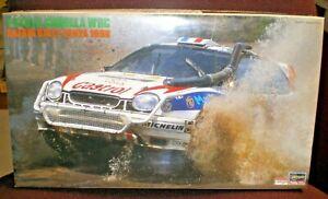 HASEGAWA TOYOTA COROLLA WRC SAFARI RALLY KENYA 1988 1/24 scale kit #25090