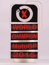 "MINICHAMPS JORGE LORENZO PITBOARDS ""GP VALENCIA 2015 W.CHAMPION"" SCALA 1/12 NEW"