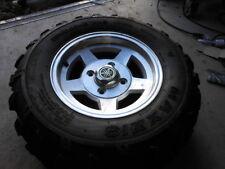 Take Off ATV UTV SxS Tire Wheel Rim Alloy 06 Yamaha Rhino 12x7.5 Maxxis 25 10 12