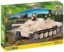 COBI Sd.Kfz 173 Jagdpanther COBI 2473 NEW NRFB Very rar ! 400 Bricks + 2 FIGURES