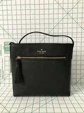 NWT KATE SPADE WKRU4073 CHESTER STREET DESSI BLACK LEATHER CROSSBODY BAG