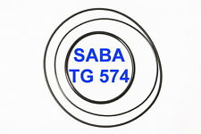 SET CINGHIE SABA TG 574 REGISTRATORE A BOBINE BOBINA EXTRA FORTI FRESCHE TG574