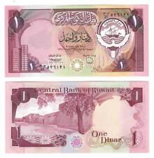 UNC KUWAIT 1 Dinar Note ND (1980) P-13d Prefix 51