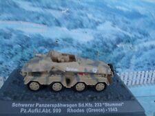 1/72 Altaya Military Magazine Schwerer Panzerspahwagen Sd.Kfz.233 Greece 1943