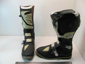 Thor Quadrant 1 MX Motocross Off Road Boots Mens Size 11 Leather