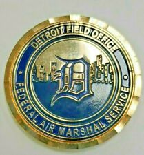 Federal Air Marshal Service Detroit Field Office Challenge Coin Original