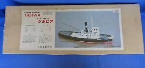 Vintage Saito Cervia Tugboat R/C or Live Steam Model Ship Boat Kit Japan