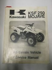 Kawasaki ATV OEM Service Repair Parts Manual 1987-1997 KSF250 Mojave In Stock