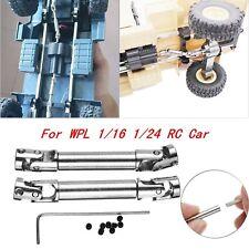 2x Metall Antriebswelle Driving Shaft Für WPL 1/16 1/24 Military RC Crawler Car