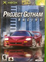 Microsoft XBOX Project Gotham Racing 2001 Game Complete TESTED