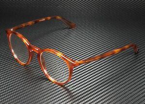 GUCCI GG0121O 003 Round Oval Havana Demo Lens 49 mm Men's Eyeglasses