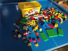 GROS LOT LEGO DUPLO PERSONN CAMIONS GRUS FERME ZOO MAISON BRIQUES + 2,0 KG N°17