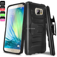 For Samsung Galaxy S8 Plus Phone Case Rugged Armor Cover Belt Clip Holster