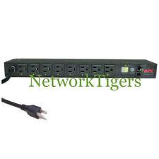 Apc Ap7900 MasterSwitch Pdu 120V 15A Rackmount Power Strip Distribution Unit