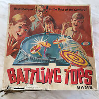 Ideal Battling Tops Vintage Game 1968 Incomplete