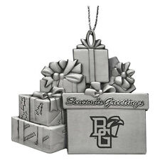 Bowling Green State University  - Pewter Gift Package Ornament