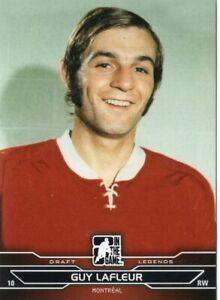 2014/15 ITG Draft Prospects #83 GUY LAFLEUR (Montreal Canadiens)