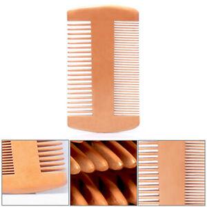 Double Sided Sandalwood Peach Wood Beard Comb Hair Care Brush Antistatic Combs