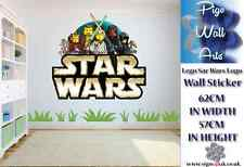 Star Wars Lego Logo Wall Art Sticker Children's bedroom décor kids large sticker