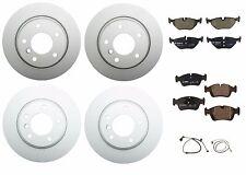 Complete Brake Job Front & Rear 4-oem Ate Rotors Bosch Pads Sensors E46 325 328
