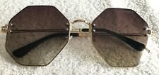 ITALY CHANEL SUNGLASSES OCTAGON A1801 FRAME 138 58 16