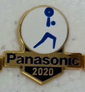 WEIGHTLIFTING TOKYO 2020 PANASONIC OLYMPIC PIN