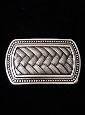 Vintage Silver Plated Legend Irish Celtic Knot Belt Buckle in BOX Men Ladies
