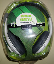 Premium Xbox360 Headset, Kopfhörer mit Mikrofon, Kabel 1,5m, EAXUS -NEU+OVP-