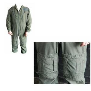 Sage Flight Suit / Aircrew RAF Military Coverall Sage Green MK16B or 16A ~ Used