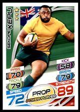 Topps Rugby Attax 2015 - Sekope Kepu Australia No. 12