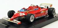 Brumm 1/43 Scale R368 - F1 Ferrari 126CK Turbo GP Monte Carlo 1981 - D.Pironi