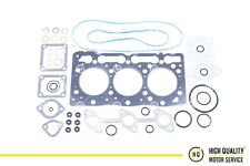 Full Gasket Set With Head Gasket Metal For Kubota, Bobcat, 1G032-03310, D905