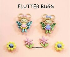 DRESS IT UP BUTTONS 8294 - INSECTS -  CRAFTS CAKE-MAKING CARDS - FLUTTER BUGS