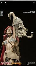 Red Sonja 1st Release Sideshow Exclusive Statue Factory Sealed Conan #744/1500