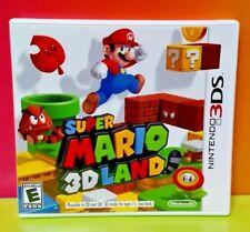 Super Mario 3D Land  - Nintendo 3DS Case + Cover Art ONLY *NO GAME*
