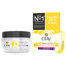 OLAY COMPLETE CARE NORMAL/DRY/OILY NIGHT CREAM - 50ML