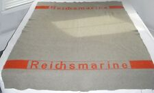 Cool and Rare 1920s-1930s German Reichsmarine (Navy) Issue Blanket