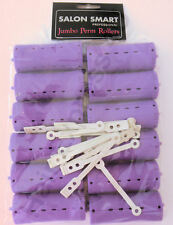 Salon Smart Jumbo Perm Rods - Purple 33mm(12 pack)