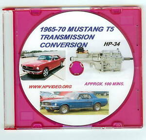 1960's Ford Mustang, Falcon etc.T5 Five Speed Transmission Conversion Video DVD