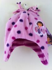 Bnwt New Baby Girls Pink Dora the Explorer Hiver Polaire A Age 12 18 24 months