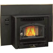 Multi Fuel Fireplace Heater Insert - Corn & Pellet - 60 LBS Capacity Hopper