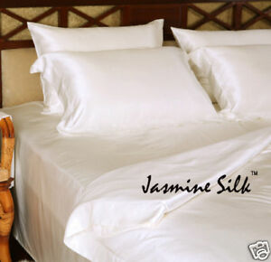 Jasmine Silk Pura Seta Aderente Foglio (Avorio) - Doppio