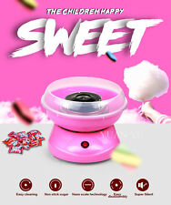 Cotton Candy Maker Machine Electric Floss Commercial Carnival Party Sugar Pink