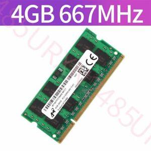 4GB / 2GB PC2-5300S DDR2-667 200Pin 1.8V SODIMM RAM Laptop RAM For Micron Lot UK