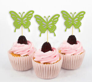 Butterfly Cupcake Toppers, Birthday Wedding Party - Pack Of 20-DSCCT-56A